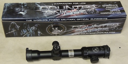 CounterSniper Optics Crusader 1-12x30mm Tactical Rifle Scope NEW